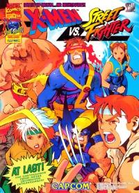 X-Men Vs. Street Fighter Box Art