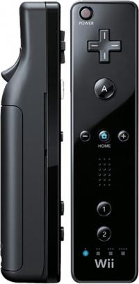 Nintendo Wii Remote + Wii MotionPlus (Black) Box Art