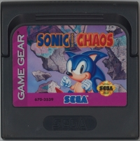 Sonic Chaos Box Art