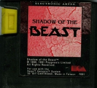 Shadow of the Beast Box Art