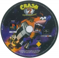 Crash Bandicoot 2: Cortex Strikes Back Box Art