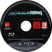 Metal Gear Rising: Revengeance Box Art