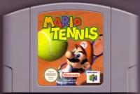 Mario Tennis Box Art