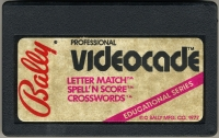 Letter Match / Spell 'N Score / Crosswords Box Art