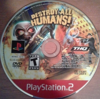 Destroy All Humans! - Greatest Hits Box Art