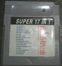 GB Super 17 in 1 Box Art
