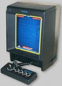 Milton Bradley Vectrex Computer Game System Box Art