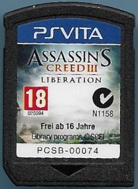 Assassin's Creed III: Liberation Box Art