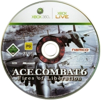 Ace Combat 6: Fires of Liberation Box Art