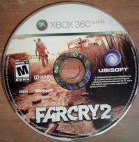 Far Cry 2 Box Art