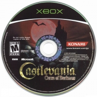 Castlevania: Curse of Darkness Box Art