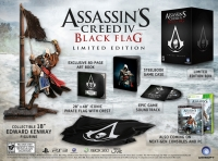 Assassin's Creed IV: Black Flag Limited Edition Box Art