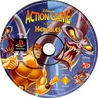 Disney's Hercules Action Game Box Art