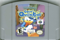Disney's Donald Duck Goin' Quackers Box Art
