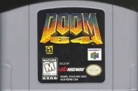 Doom 64 Box Art