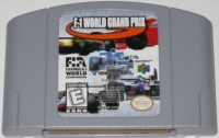 F-1 World Grand Prix Box Art