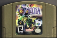 Legend of Zelda, The: Majora's Mask Box Art