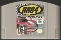 Ridge Racer 64 Box Art