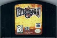 Road Rash 64 (black cartridge) Box Art