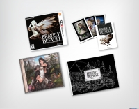 Bravely Default - Collector's Edition Box Art