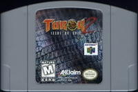 Turok 2: Seeds of Evil (gray cartridge) Box Art