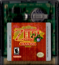 Legend of Zelda, The: Oracle of Seasons Box Art