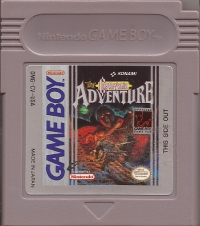 Castlevania: The Adventure Box Art
