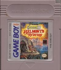 Castlevania II: Belmont's Revenge Box Art
