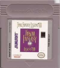 Final Fantasy Legend III (Sunsoft) Box Art