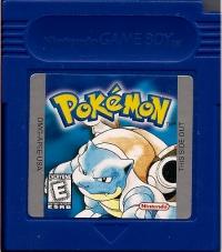 Pokémon: Blue Version (white ESRB) Box Art