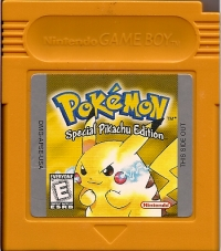 Pokémon: Yellow Version - Special Pikachu Edition (white ESRB) Box Art