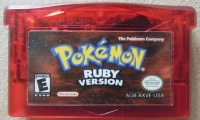 Pokémon: Ruby Version Box Art