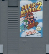 Super Mario Bros. 2 (Nintendo Seal of Quality) Box Art