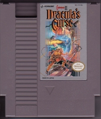 Castlevania III: Dracula's Curse (Win A Trip To Dracula's Hometown) Box Art