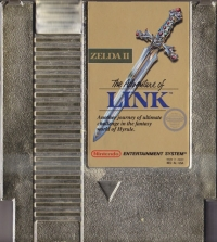 Zelda II: The Adventure of Link Box Art
