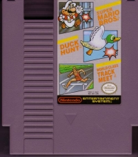 Super Mario Bros. / Duck Hunt / World Class Track Meet (Nintendo Seal of Quality) Box Art