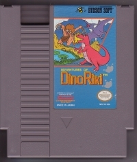 Adventures of Dino Riki Box Art