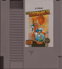 Goonies II, The (3 screw cartridge) Box Art
