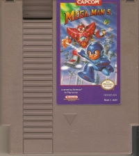 Mega Man 5 Box Art