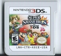 Super Smash Bros. for Nintendo 3DS Box Art