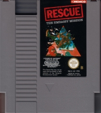 Rescue: The Embassy Mission Box Art