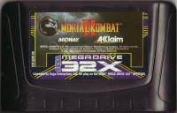 Mortal Kombat II Box Art