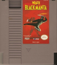 Wrath of The Black Manta Box Art