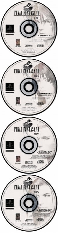 Final Fantasy VIII - Greatest Hits (Square Enix Copyright) Box Art
