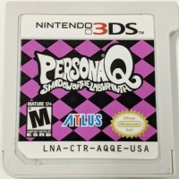 Persona Q: Shadow of the Labyrinth Box Art