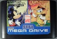 Quackshot Starring Donald Duck / Castle of Illusion Starring Mickey Mouse Box Art