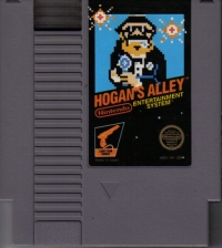 Hogan's Alley (3 screw cartridge) Box Art