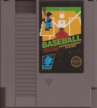 Baseball (3 screw cartridge) Box Art