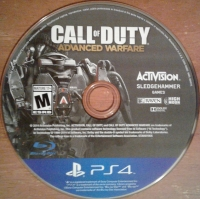 Call of Duty: Advanced Warfare Box Art