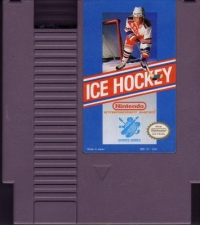 Ice Hockey Box Art